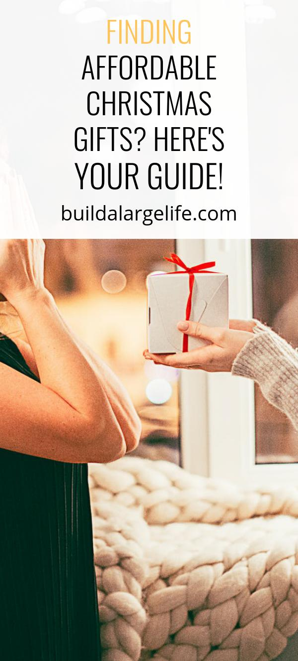 Finding Affordable Christmas Gifts? Here's Your Guide!