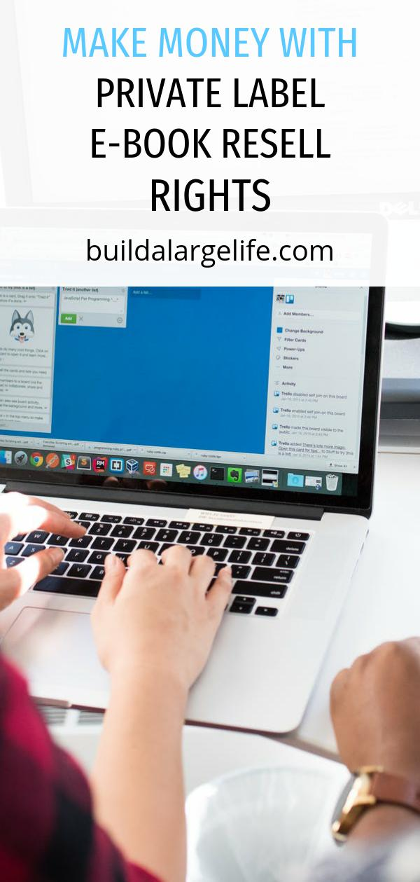 Make Money With Private Label E-Book Resell Rights